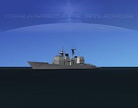 USS Ticonderoga CG-47 LP 3D asset