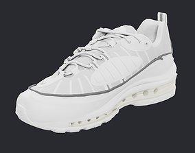 3D model Nike Air Max 98 sneakers