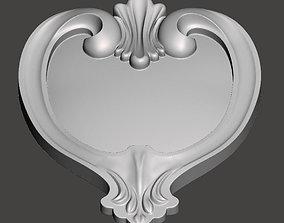 WoodCarving detail - 3d model for CNC - WCCFC0D
