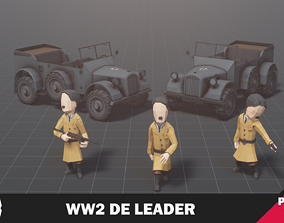 WW2 DE Leader 3D asset