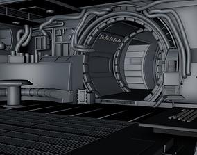 star wars -Millennium Falcon Interior 3D asset