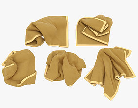 3D model Towel Collection 002