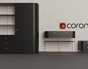 3D model Arno Bedroom Furniture
