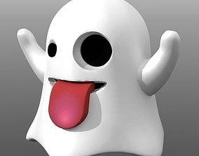 3D print model Emoji Ghost