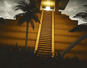 3D asset Mayan Temple