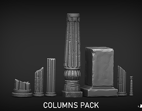 Ruins Assests 3D printable model
