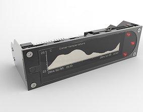 Aquacomputer Aquaero 6 XT Fan Controller water-cooling 3D