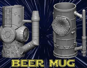 3D printable model Beer mug board