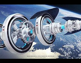 3D model Nasa Concept Ship