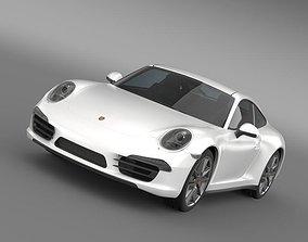 3D Porsche 911 Carerra 2013