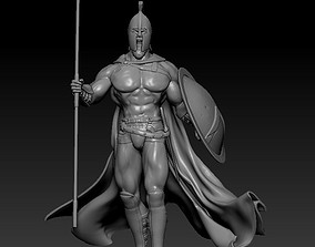 king Leonid 300 Spartans remix 3D print model