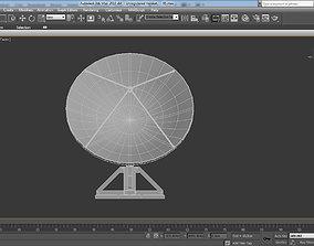 3D model Antenna post