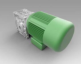 3D model Gearmotor