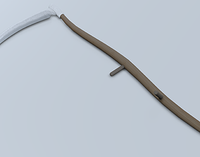 Reaping Hook 3D asset