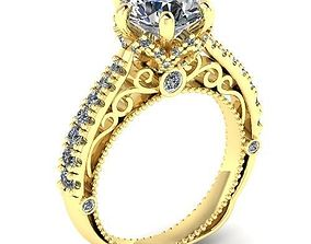 3D printable model Beautiful ring for girlfriend Ring 19