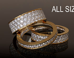 3D printable model Infinity Ring Collection All sizes