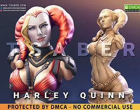 3D printable model Harley Quinn Bust - DC comics 1