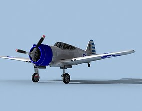 Curtiss H-75C Mohawk V13 China 3D