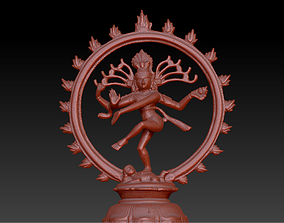 Shiva Nataraja The Lord of Dance 3D print model