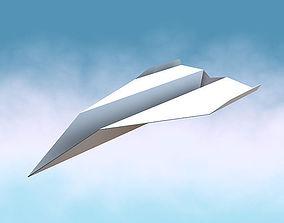 Paper Jet 3D model
