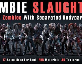Zombie Slaughter 3D model