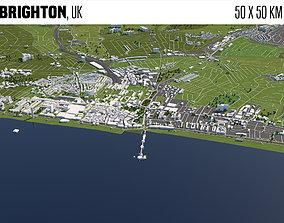 Brighton UK 3D model