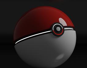 Blender Pokeball 3D