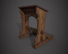 3D model Prayer Stand