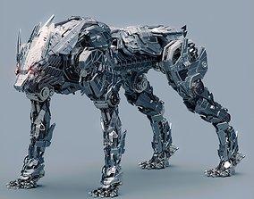 Metal Wolf Fenrir 3D