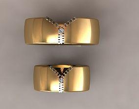 3D printable model zip set ring