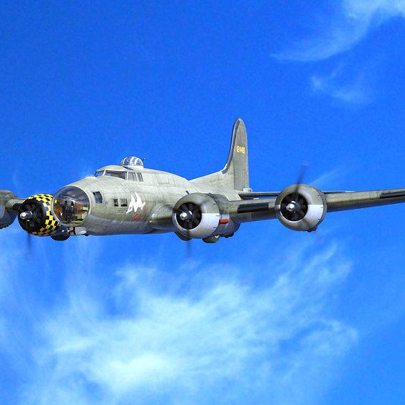Sally B, B-17G