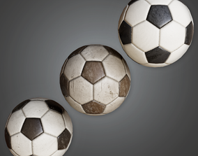 HSG - Soccer Ball - PBR Game Ready 3D asset
