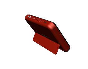 Pad display design red 3D print model