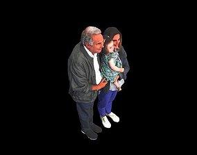 No42 - Family Trio 3D model