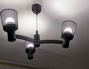 lamp Chandelier Lamp modular E-14 3d print