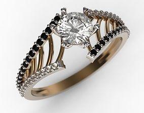Ring MR-9 Woman Jewelery STL 3d print