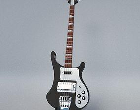 Rickenbacker Bass Guitar 3D model