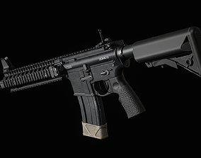 3D asset Daniel Defense MK18