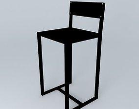 Stool Bar intercom 3D