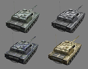 3D model China PLA Army ZTQ-15 Light Tank Type 15 Light