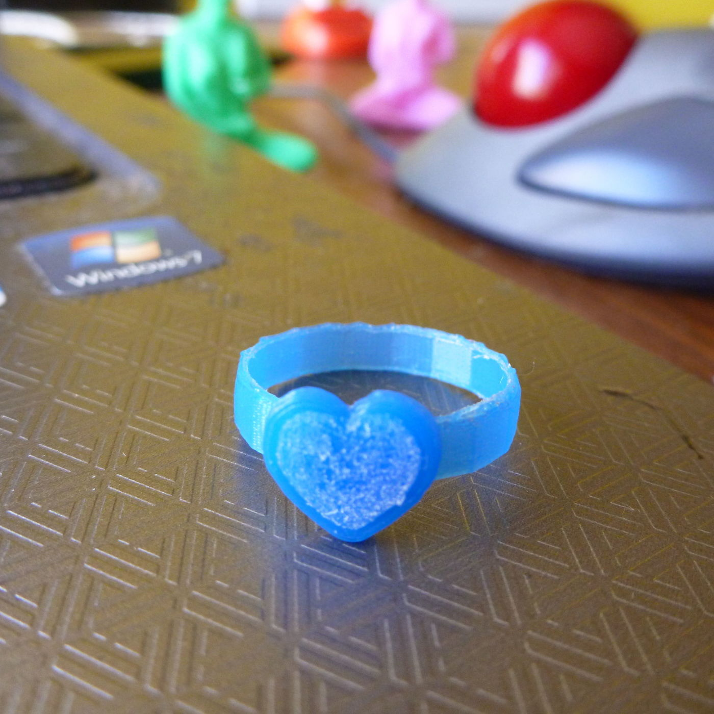 Hello Kitty 3D Prints Shiny Rings Shoes Swords and Glasses