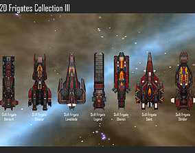 2D Frigates Collection III 3D