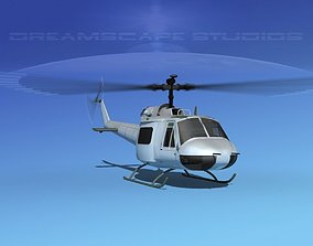 Bell 204 Anderson Tours 3D model