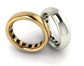 rings 43 platinum 3D printable model