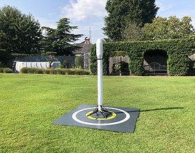 3D printable model SpaceX inspired edf rocket