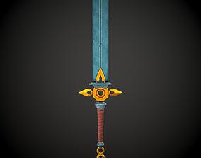 3D model Stylized Sword 2