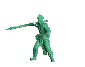 Wood elf soldiers 3D print model