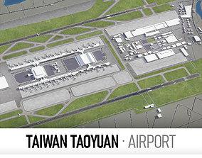 3D model Taiwan Taoyuan International Airport-TPE