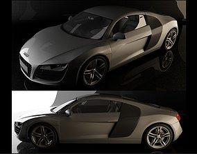 Audi R8 2006 3D model
