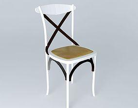 lounge 3D White chair